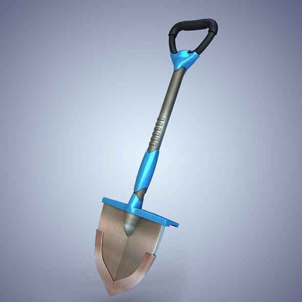 Shovel hi-tech - 3DOcean Item for Sale