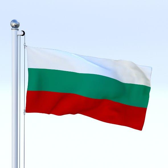 Animated Bulgaria Flag