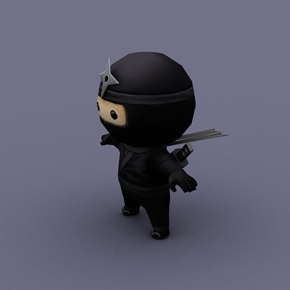 ninzya black - 3DOcean Item for Sale