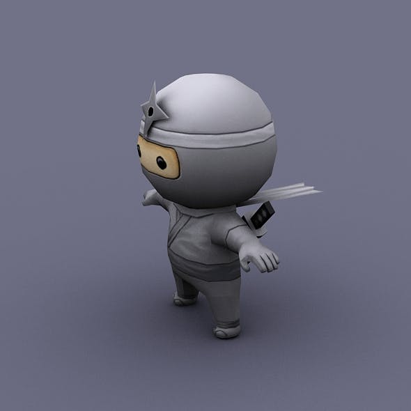 ninzya_white - 3DOcean Item for Sale