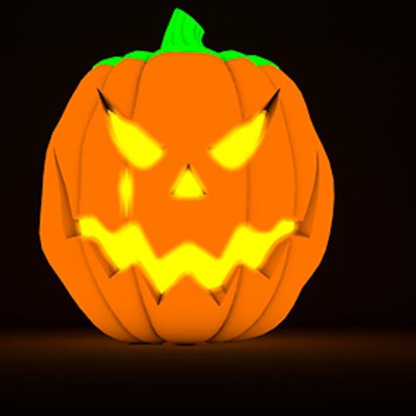 Halloween Cinema 4D Model