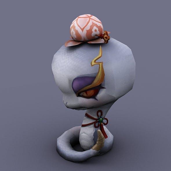 snake white - 3DOcean Item for Sale