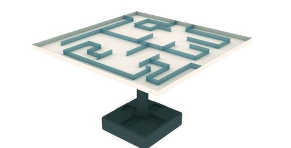 Jairo Table 3d Model - 3DOcean Item for Sale