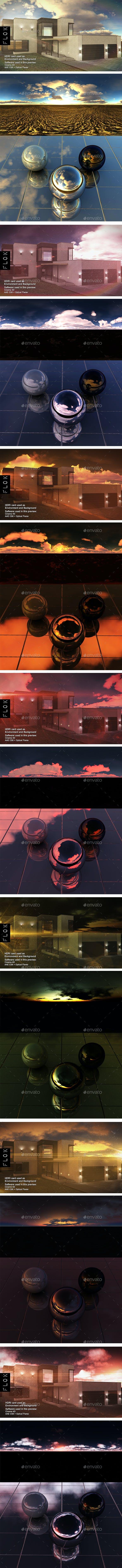HDRI Pack - Desert vol 17 - 3DOcean Item for Sale