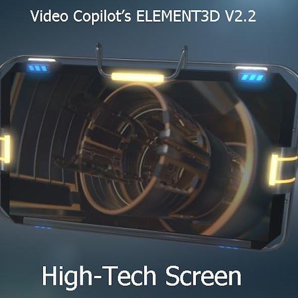 Screen for Video Copilot's Element 3D v.2.2
