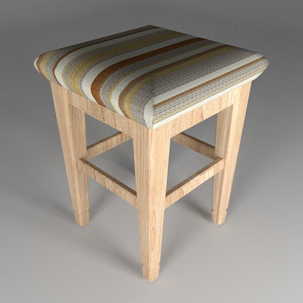 tabouret - 3DOcean Item for Sale