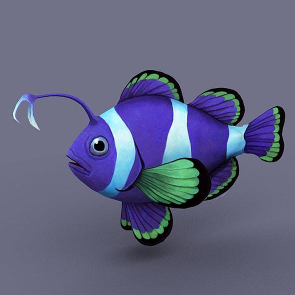 Sapphire fish