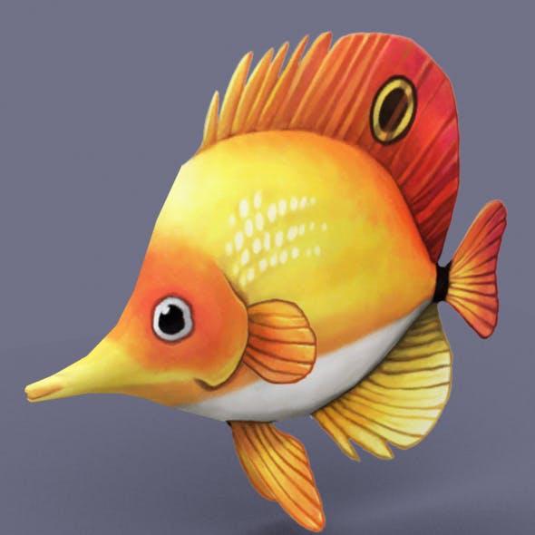 Tropical fish - 3DOcean Item for Sale