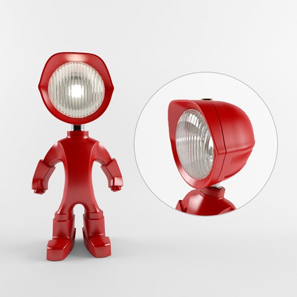 The Lampster robo lamp