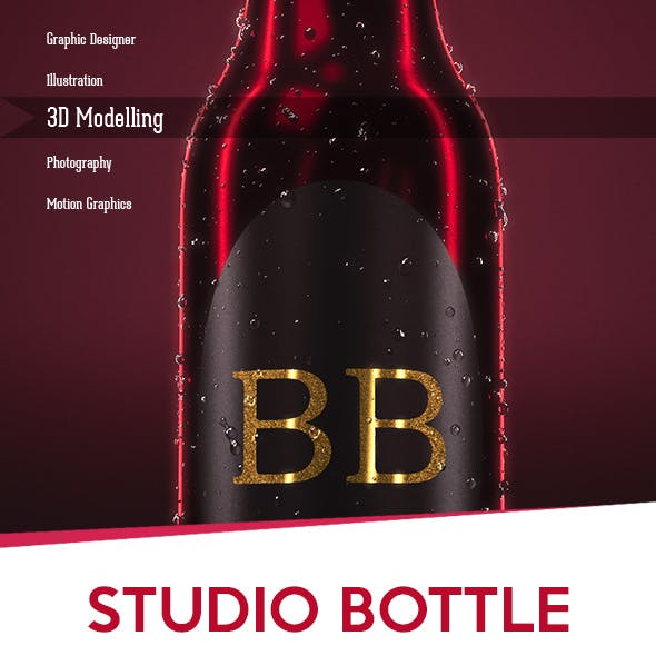 Bottle Studio Setup