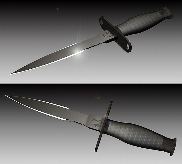 Knife - 3DOcean Item for Sale