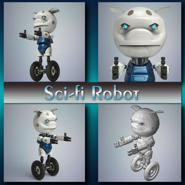 Sci-fi Robot - 3DOcean Item for Sale