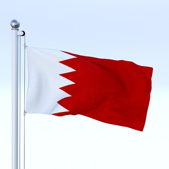 Animated Bahrain Flag - 3DOcean Item for Sale