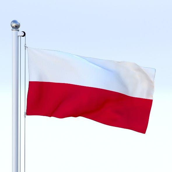 Animated Poland Flag
