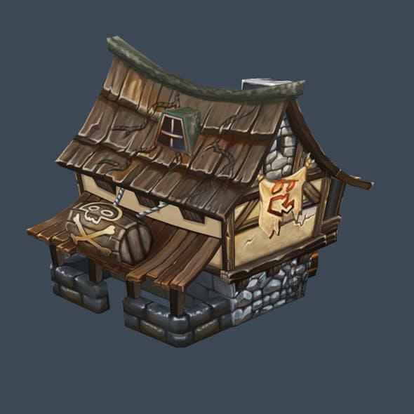 cartoon house 10 - 3DOcean Item for Sale