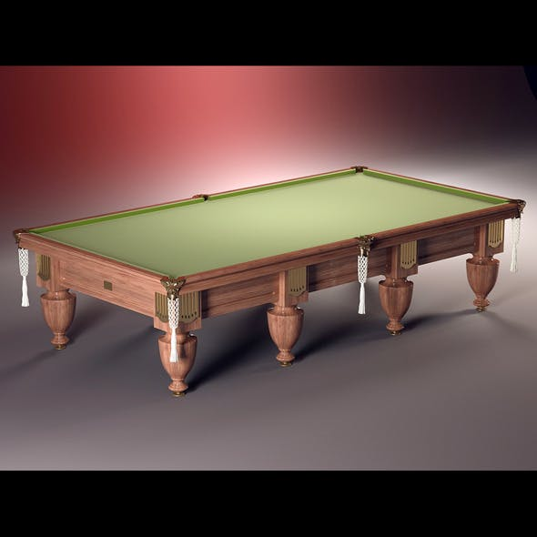 High quality model of classic billiard table