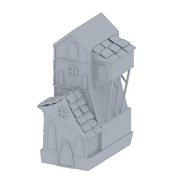 Cartoon home - 3DOcean Item for Sale