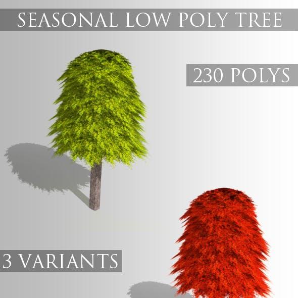 Low Poly Seasonal Tree