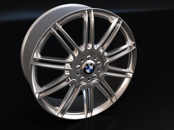 3D BMW Wheel - 3DOcean Item for Sale