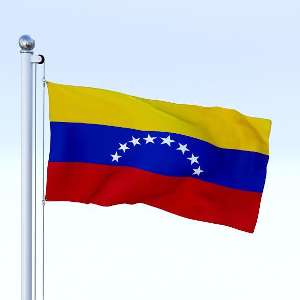 Animated Venezuela Flag - 3DOcean Item for Sale
