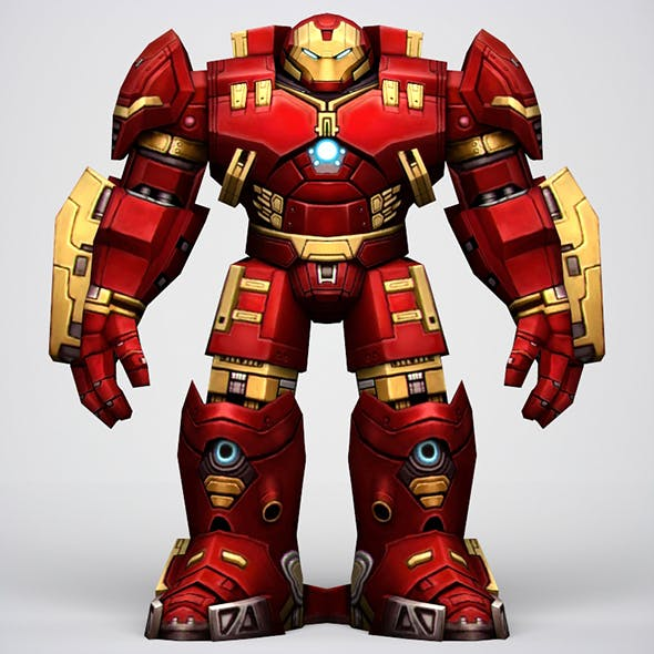 Iron Man Hulkbuster Armor - 3DOcean Item for Sale