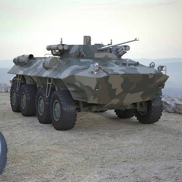 Armoured Transporter BTR 90