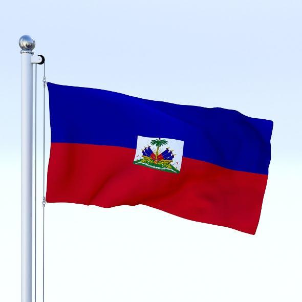 Animated Haiti Flag