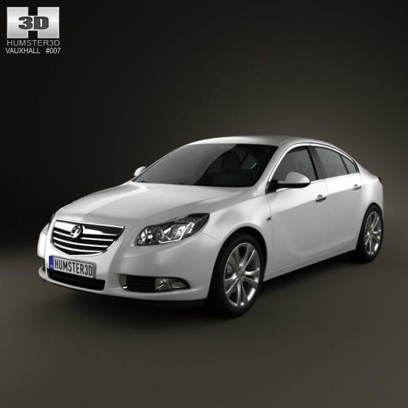 Vauxhall Insignia Sedan 2009 - 3DOcean Item for Sale