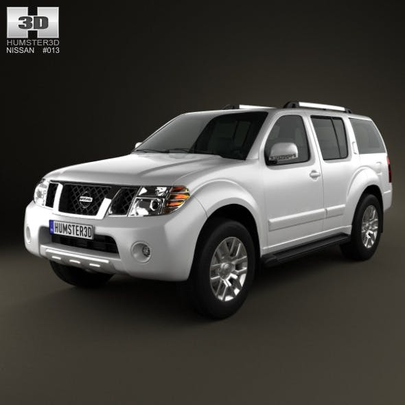 Nissan Pathfinder 2010 - 3DOcean Item for Sale