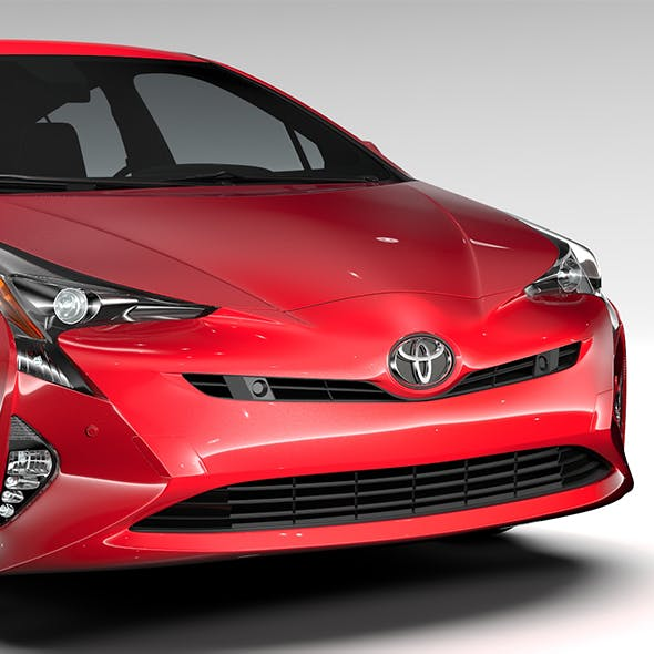 Toyota Prius 2016 - 3DOcean Item for Sale