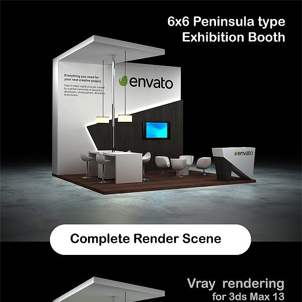 Exhibition Booth - Peninsula 6x6