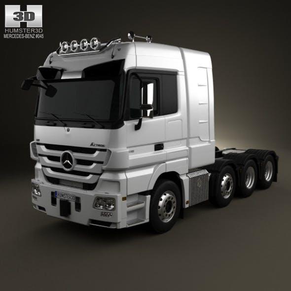 Mercedes-Benz Actros Tractor 4-axis