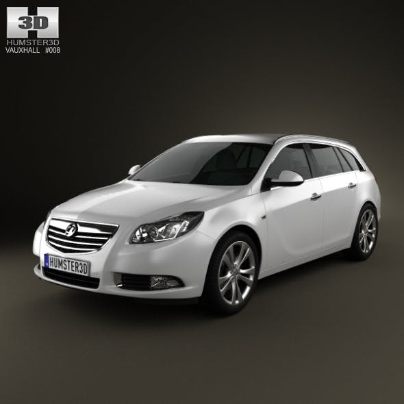 Vauxhall Insignia Sports Tourer 2010 - 3DOcean Item for Sale