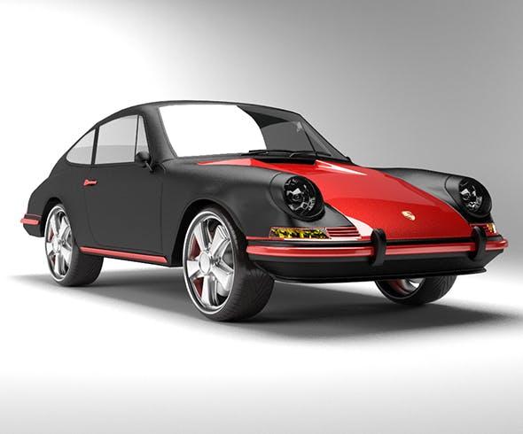 Porsche 911 T 1968 - 3DOcean Item for Sale