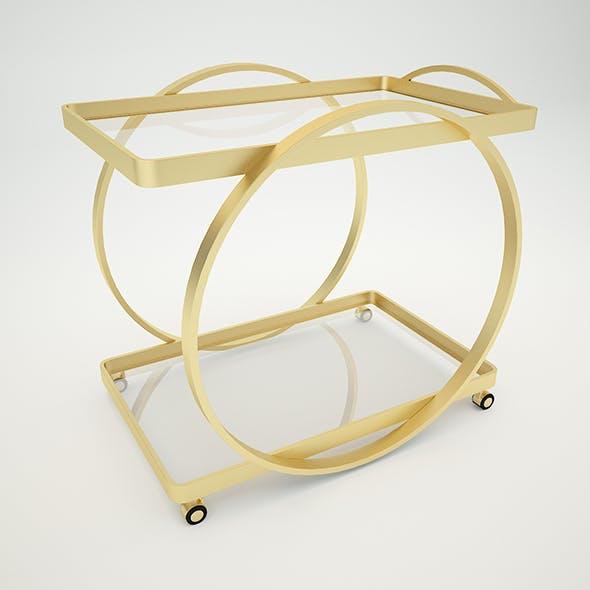 Connery Bar Cart - 3DOcean Item for Sale