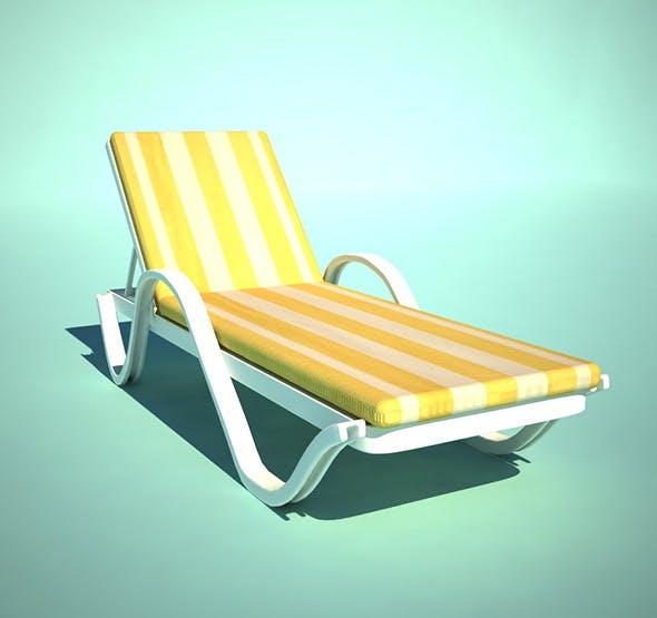 Chaise Longue - 3DOcean Item for Sale