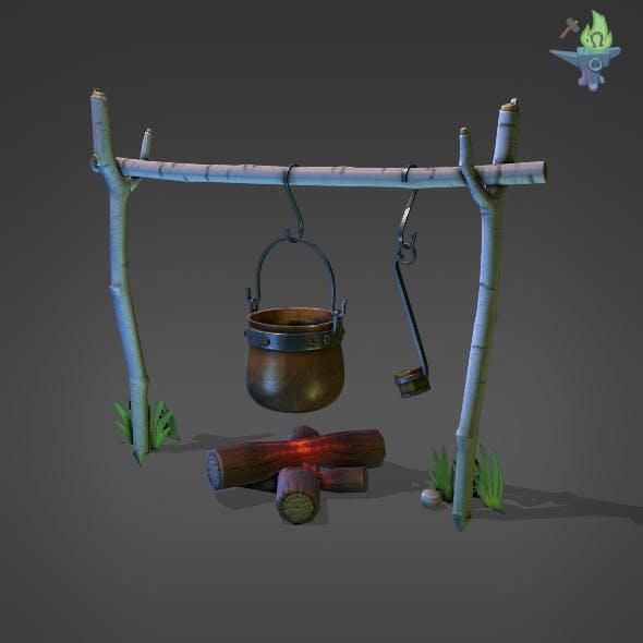 Camp Fire Cauldron