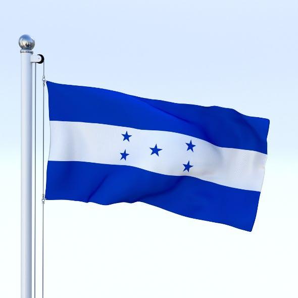 Animated Honduras Flag - 3DOcean Item for Sale