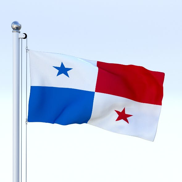 Animated Panama Flag