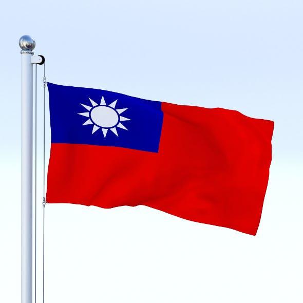 Animated Taiwan Flag