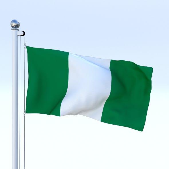 Animated Nigeria Flag