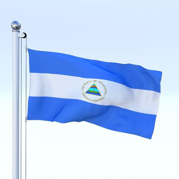 Animated Nicaragua Flag