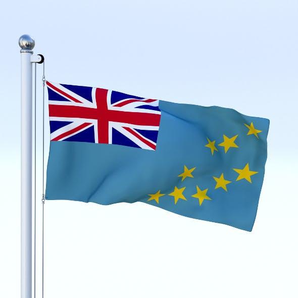Animated Tuvalu Flag