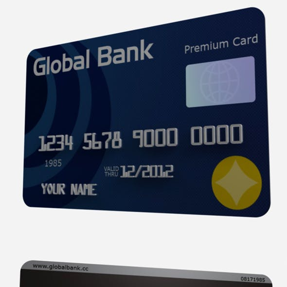 Cinema 4D Credit/ Debit Card