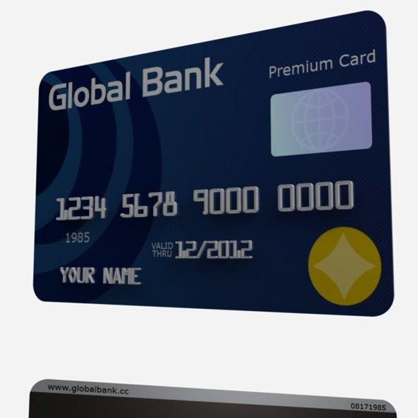 Cinema 4D Credit/ Debit Card