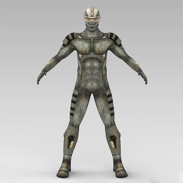 Fantasy Humanoid - 3DOcean Item for Sale