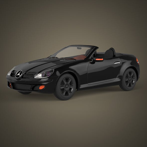 Realistic Car Mercedes Benz