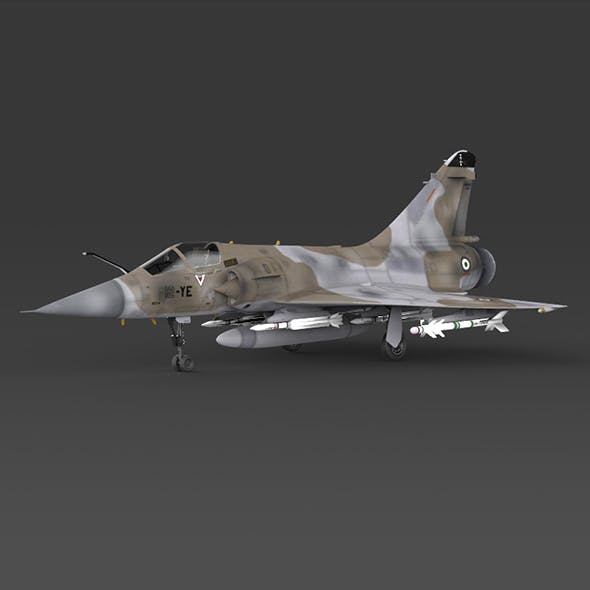 Fighter Aircraft Mirage 2000
