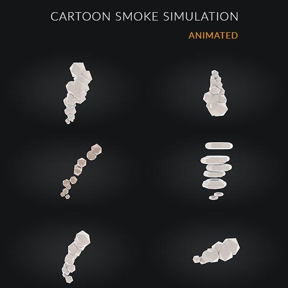 6 Cartoon Smoke Simulation