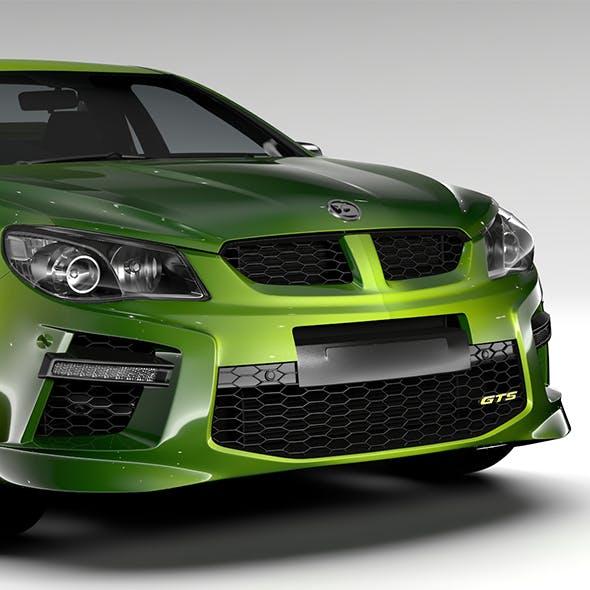 HSV GTS Maloo GEN F2 2015 - 3DOcean Item for Sale